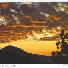 Postales: EL TEIDE - TENERIFE - CANARY ISLANDS.- CONTRALUZ DEL AMANECER. Lote 143166334