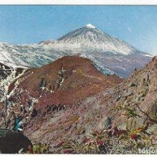 Postales: TENERIFE (ISLAS CANARIAS) - 210.- EL VOLCAN TEIDE (3.717M).. Lote 143167582