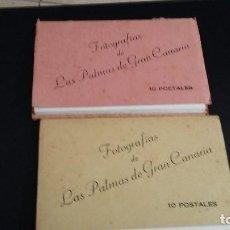 Postales: 20 ANTIGUAS POSTALES 2X10 LAS PALMAS DE GRAN CANARIA,BAZAR ALEMAN, VDA RAFAEL ROMERO TRIANA 20. Lote 143468774