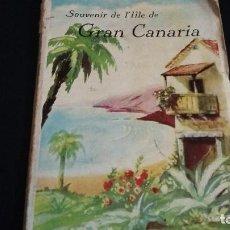 Postales: ANTIGUO SOUVENIR POSTALES ISLA DE GRAN CANARIA, PIÑERO,17 POSTALES UNA TRIPLE. Lote 143474798