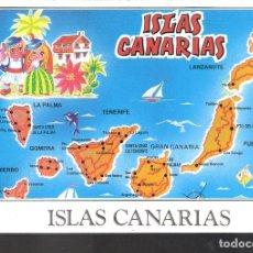 Postales: ARCHIPIELAGO CANARIO. ISLAS CANARIAS.. Lote 143692150