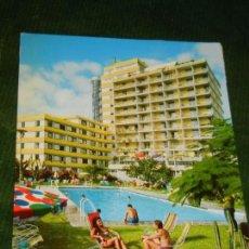 Postales: TENERIFE PUERTO DE LA CRUZ LAS VEGAS HOTEL - 2CT32 - CIRC.1971. Lote 144053030