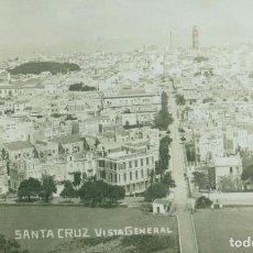 Postales: TENERIFE SANTA CRUZ VISTA GENERAL. HACIA 1910. RARA.. Lote 144344414