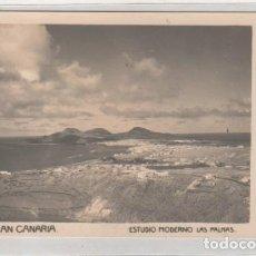 Postales: POSTAL FOTOGRÁFICA. GRAN CANARIA. ESTUDIO MODERNO. LAS PALMAS. SIN CIRCULAR. . Lote 144496534