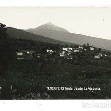Postales: TENERIFE EL TEIDE DESDE LA VICTORIA JG Nº 35. POSTAL FOTOGRÁFICA, SIN CIRCULAR. Lote 144499694