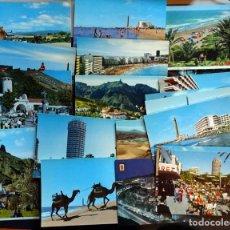 Postales: LOTE DE 20 ANTIGUAS POSTALES DE GRAN CANARIA SIN CIRCULAR. Lote 145431438