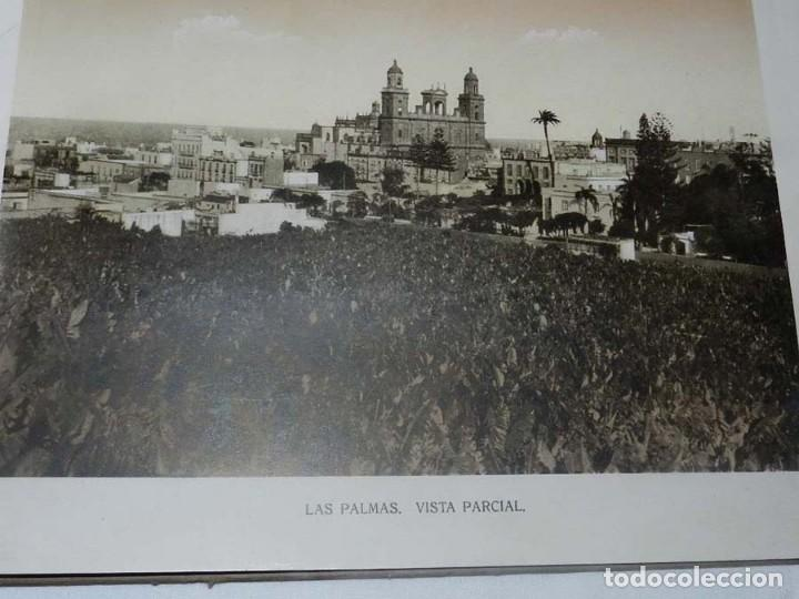 Postales: ALBUM DE FOTOGRAFIAS SOUVENIR DE LAS PALMAS, ISLAS CANARIAS, 26 PAG. MIDE 28 X 21,5 CMS. - Foto 3 - 145486698