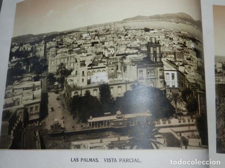 Postales: ALBUM DE FOTOGRAFIAS SOUVENIR DE LAS PALMAS, ISLAS CANARIAS, 26 PAG. MIDE 28 X 21,5 CMS. - Foto 4 - 145486698