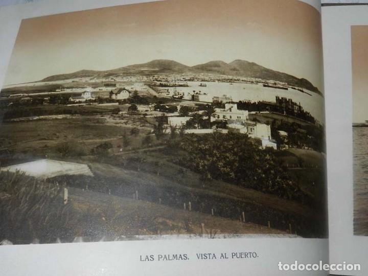 Postales: ALBUM DE FOTOGRAFIAS SOUVENIR DE LAS PALMAS, ISLAS CANARIAS, 26 PAG. MIDE 28 X 21,5 CMS. - Foto 5 - 145486698