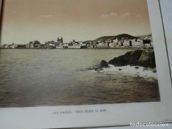 Postales: ALBUM DE FOTOGRAFIAS SOUVENIR DE LAS PALMAS, ISLAS CANARIAS, 26 PAG. MIDE 28 X 21,5 CMS. - Foto 6 - 145486698