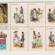 Postales: POSTALES POSTAL TIPICA CANARIAS. Lote 145703202