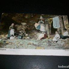 Postales: GRAN CANARIA CAMPESINOS REVERSO SIN DIVIDIR. Lote 146959930