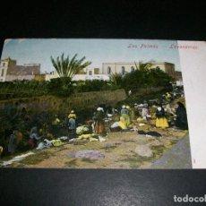 Postales: LAS PALMAS GRAN CANARIA LAVANDERAS. Lote 146960430