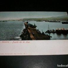 Postales: GRAN CANARIA PUERTO DE LA LUZ REVERSO SIN DIVIDIR. Lote 146960678