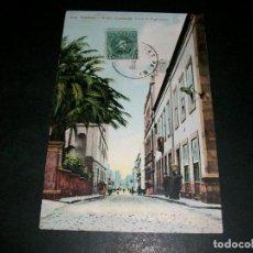 Postales: LAS PALMAS DE GRAN CANARIA CALLE S. FRANCISCO. Lote 146982730