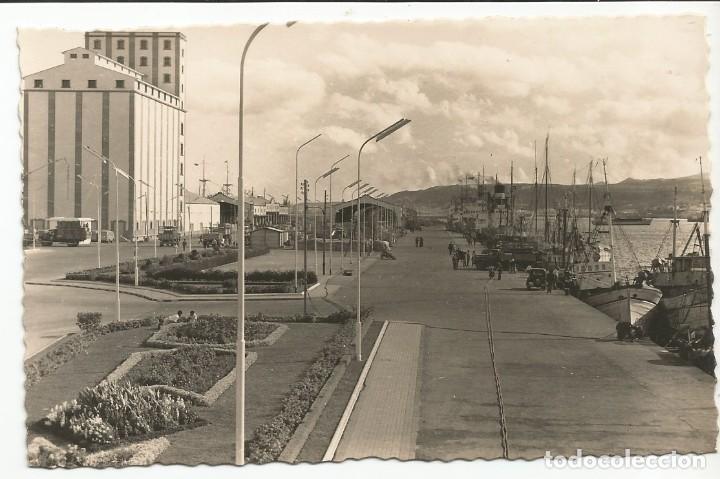 LAS PALMAS DE GRAN CANARIA - EL MUELLE - Nº 191 ED. ARRIBAS (Postales - España - Canarias Moderna (desde 1940))