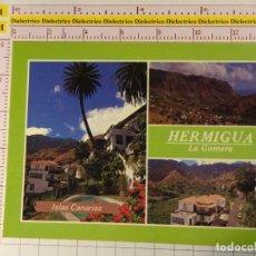 Postales: POSTAL DE LA ISLA DE LA GOMERA. AÑO 1990. LOS TELARES HERMIGUA. 1333. Lote 148093942