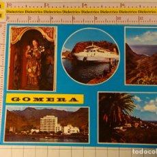 Postales: POSTAL DE LA ISLA DE LA GOMERA. VISTAS. BUQUE BARCO FERRY GOMEREA. 1344. Lote 148094742
