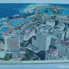 Postales: POSTAL DE PUERTO DE SANTA CRUZ , TENERIFE ( CANARIAS ). AÑOS 60 . INGLESA. Lote 148231866