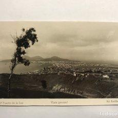 Postales: PUERTO DE LA LUZ (LAS PALMAS) POSTAL NO. 47, VISTA GENERAL. EDITA: ED. ARRIBAS (H.1950?). Lote 148235926