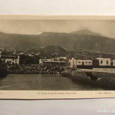 Postales: PUERTO DE LA CRUZ (TENERIFE) POSTAL NO.19, EL TEIDE. EDITA : EDICIONES ARRIBAS (H.1950?). Lote 148237312