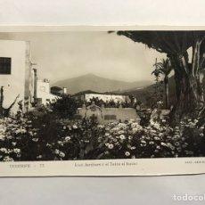 Postales: TENERIFE. POSTAL NO.53, ICOD JARDINES Y EL TEIDE AL FONDO. EDITA. EDICIONES ARRIBAS (H.1950?). Lote 148237510