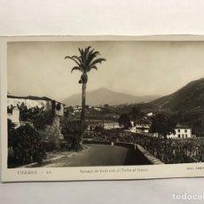 Postales: TENERIFE. POSTAL NO.48, PAISAJE DE ICOD CON EL TEIDE AL FONDO. EDITA. EDICIONES ARRIBAS (H.1950?). Lote 148238114