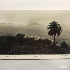 Postales: TENERIFE. POSTAL NO.55, OROTAVA Y TEIDE. EDITA. EDICIONES ARRIBAS (H.1950?). Lote 148239156