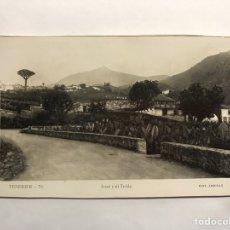 Postales: TENERIFE. POSTAL NO.76 ICOD Y EL TEIDE. EDITA. EDICIONES ARRIBAS (H.1950?). Lote 148239436