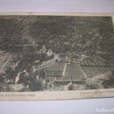 Postales: ANTIGUA POSTAL....DESIERTO DE LAS PALMAS.. Lote 150298138