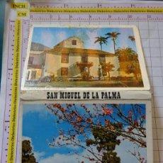 Postales: ACORDEÓN LIBRITO DE 12 POSTALES DE LA ISLA DE SAN MIGUEL DE LA PALMA. AÑOS 70. 1608. Lote 234834455