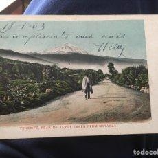 Postales: TENERIFE EL TEIDE. Lote 150966202
