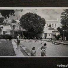 Postales: LAS PALMAS DE GRAN CANARIA-PISCINA GRAN HOTEL SANTA CATALINA-204-ED·LUJO-POSTAL ANTIGUA-(57.019). Lote 151019798