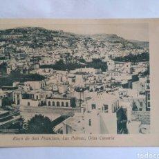 Postales: POSTAL RISCO DE SAN FRANCISCO, LAS PALMAS, GRAN CANARIA.. Lote 151504049