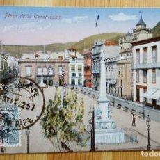 Postales: TENERIFE PLAZA DE LA CONSTITUCION Nº 10 ED. NOBREGA´S ENGLISH BAZAR 1932 USCE 20670. Lote 151668530