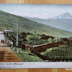 Postales: PICO DE TEIDE DESDE MATANZA UNION POSTAL UNIVERSAL. Lote 152065878