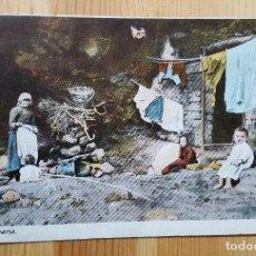 Postales: GRAN CANARIA CAMPESINOS CIRCA 1900 UNION POSTAL UNIVERSAL. Lote 152392990