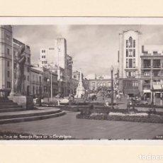 Postales: POSTAL PLAZA DE LA CANDELARIA. SANTA CRUZ DE TENERIFE - BAENA. Lote 152492854