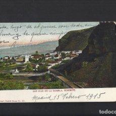 Postales: TENERIFE. SANT JUAN DE LA RAMBLA. CIRCULADA 1915. Lote 152521454