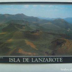 Postales: POSTAL DE LANZAROTE ( ISLAS CANARIAS ): PARQUE NACIONAL DE TIMANFAYA. Lote 152589090
