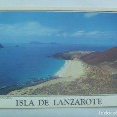 Postales: POSTAL DE LA ISLA DE LANZAROTE ( CANARIAS ): ISLA GRACIOSA. Lote 152910610