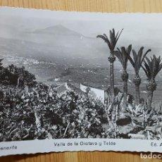 Postales: TENERIFE VALLE DE LA OROTAVA Y TEIDE ED. ARRIBAS Nº 74. Lote 152931846