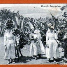 Postales: BONITA POSTAL DE TENERIFE DE UNAS CAMPESINAS MUY RARA ÚNICA PIEZA AÑOS 19??. Lote 153242466