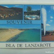 Postales: POSTAL DE LA ISLA DE LANZAROTE ( CANARIAS ). Lote 153521654