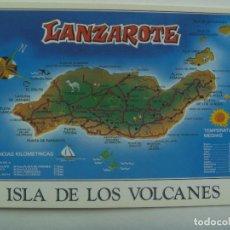 Postales: POSTAL DE LA ISLA DE LANZAROTE ( CANARIAS ). Lote 153575798
