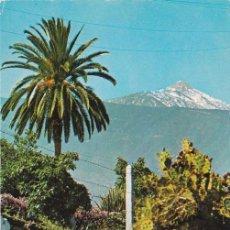 Postales: PUERTO DE LA CRUZ, EL TEIDE, TENERIFE. Lote 153963614