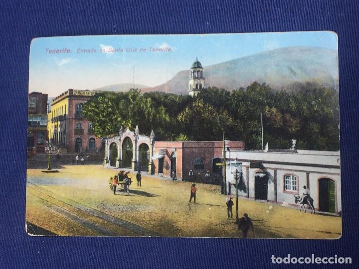 POSTAL TENERIFE ENTRADA EN SANTA CRUZ DE TENERIFE N 2530 (Postales - España - Canarias Antigua (hasta 1939))