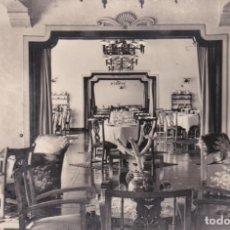 Postales: POSTAL DE LANZAROTE - PARADOR - DETALLE DE LOS SALONES. Lote 155218314