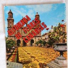 Postales: ISLAS CANARIAS. ALFOMBRA DE FLORES GE 14 EUROAFRICANA DE CANARIAS. Lote 155295734