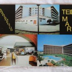 Postales: HOTEL APARTAMENTOS TEIDE MAR URBANIZACION LA PAZ FOTO NARANJO. Lote 155296782